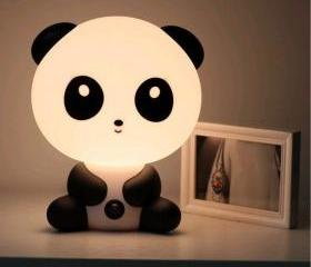 FREE SHIPPING Cute Cartoon Baby Kungfu Panda Night Light Lamp Dog Rabbit Bear